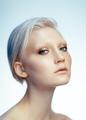 beauty portrait of young caucasian blonde woman - PhotoDune Item for Sale