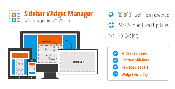 Sidebar & Widget Manager for WordPress 3