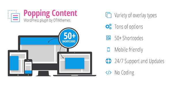 Popping Content for WordPress Download