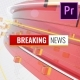 Breaking News Opener for Premiere Pro - VideoHive Item for Sale