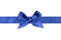Blue ribbon with bow - PhotoDune Item for Sale