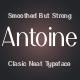 ANTOINE Classy Classic Typeface - GraphicRiver Item for Sale