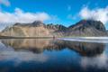 Reflection of Vestrahorn Mountain in Stokksnes, Iceland - PhotoDune Item for Sale