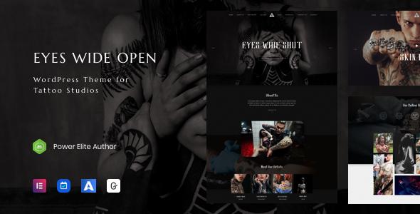 EWO - Tattoo Studio WordPress Theme