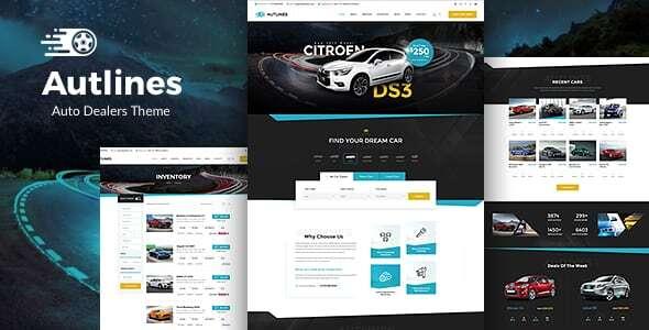 Autlines - Auto Dealer & Car Booking Theme