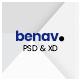 Benav - Personal Portfolio PSD Template - ThemeForest Item for Sale