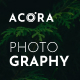 Acora - Photography WordPress Theme - ThemeForest Item for Sale