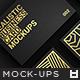 Realistic Business Card Mockups v2 - GraphicRiver Item for Sale