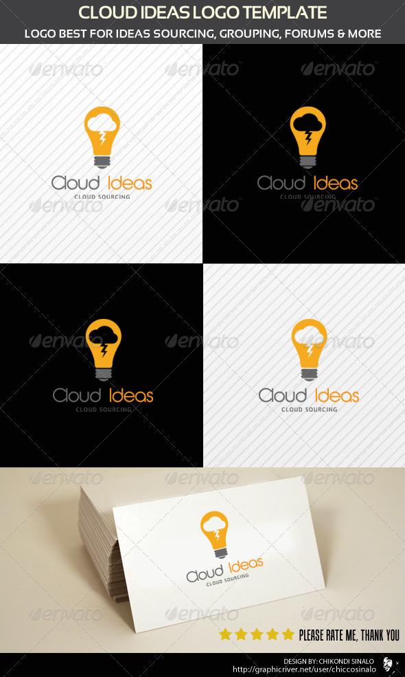 Cloud Ideas Logo Template