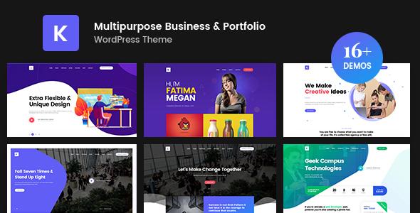 Kriativ - Creative Portfolio WordPress Theme