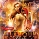 Glamour Night Club Party Flyer - GraphicRiver Item for Sale