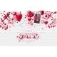 Valentine Day Love Lettering Web Brochure Flyer - GraphicRiver Item for Sale