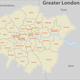 Map of Greater London, UK - GraphicRiver Item for Sale