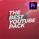 YouTube Channel Pack - Graphics Library For Premiere Pro - VideoHive Item for Sale