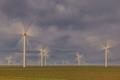 wind power turbines in  Dobrogea, Romania - PhotoDune Item for Sale