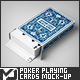 Poker Playing Cards Mock-Up - GraphicRiver Item for Sale