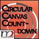 CIRCULAR CANVAS COUNTDOWN