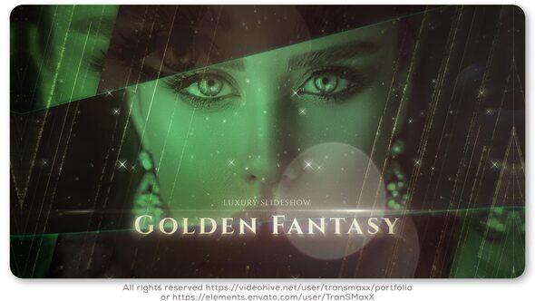 Golden Fantasy Luxury Slideshow