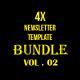 Multipurpose Newsletter Bundle Vol. 2 - GraphicRiver Item for Sale