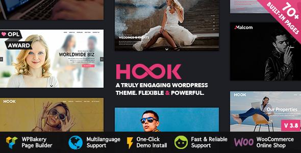 Hook - Superior WordPress Theme