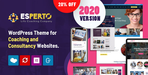 Esperto - A Consultancy and Coaching WordPress Theme