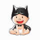 Bat Baby Boy Smiles - GraphicRiver Item for Sale