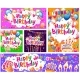 Set of Birthday Cards and Banners Balloons - GraphicRiver Item for Sale