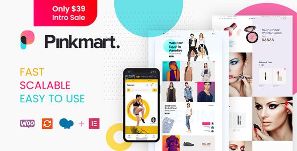 Pinkmart - AJAX theme for WooCommerce