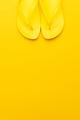 Yellow Beach Flip-Flops - PhotoDune Item for Sale