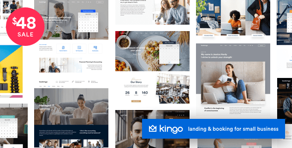 Kingo | Booking WordPress for Small Business