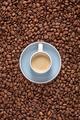 Espresso on coffee beans - PhotoDune Item for Sale