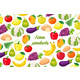 Flyer with Fruits and Vegetables - GraphicRiver Item for Sale