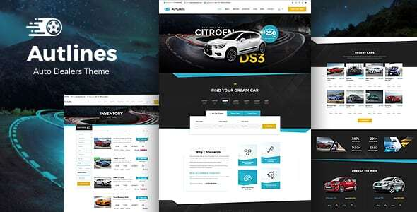 Autlines - Auto Dealer & Car Booking Theme