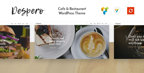 Despero - Cafe & Restaurant WordPress Theme
