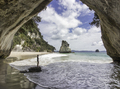Cathedral cove New Zealand - PhotoDune Item for Sale