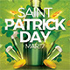 Saint Patrick Day Party Flyer - GraphicRiver Item for Sale