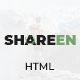 Shareen - Personal Blog Template - ThemeForest Item for Sale