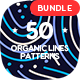 50 Organic Lines Seamless Patterns Bundle - GraphicRiver Item for Sale