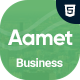 Aamet - Business Corporate Multipurpose Template - ThemeForest Item for Sale