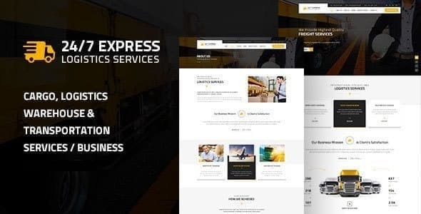 Express Logistics | Cargo WordPress