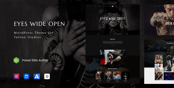 EWO - Tattoo Studio WordPress