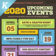 Upcoming Events Flyer Templates vol.02 - GraphicRiver Item for Sale