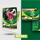Golf Tournament Flyer with Rollup Bundle - GraphicRiver Item for Sale