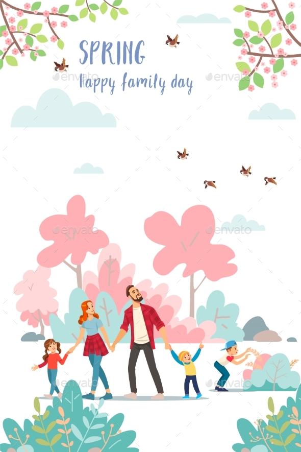 Spring. Family Day.
