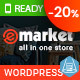 eMarket - Multi Vendor MarketPlace WordPress Theme (9+ Homepages & 2 Mobile Layouts Ready)