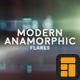 Modern Anamorphic Flares Kit - VideoHive Item for Sale