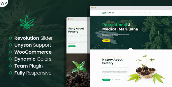 Medactive - Medical Marijuana Dispensary WordPress Theme