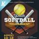 Softball Tournament Flyer Templates - GraphicRiver Item for Sale