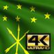 Adygea Flag 4K - VideoHive Item for Sale