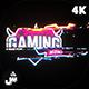 4K Glitch Logo - VideoHive Item for Sale
